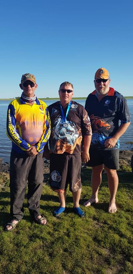 Stallions Freshwater angling club had its first promania and club competition at Jackie Leonard Vaal dam on the 12th January 2019.  The day started out rough and we started an hour late due to vehicles getting stuck in the mud on the way to the water's edge.    On the drawing of pegs my visitor drew for us and he drew peg 62 so I got peg 61, on arrival at my peg I saw that it was located around the bay to the left in the rocks. Looking at the water I could see the fish turning at 40M and at 90m, I decided to clip in at 45M with my left rod and my right rod at 80M, my approach was a 50/50 mix of Twin Series competition feed and Gold Medal feed.   On my right rod I had a Bunspice Floatie with swd on the top hook and swd on the bottom hook on the bal I put some Peanut Power, GP and FX, this went in as the hooter blew. My short rod was loaded first with 6 bomb feeders and got them in as quick as possible. The combo on the left rod; top hook Legend floatie, with swd and bottom hook was swd on the bol and Hasbeen, 'Bas' van Besie and Chakalaka. Within 10 minutes I got my first fish on the left rod, keeping the same combo, I fished that distance the whole day with a bite tempo of between 10 and 15 minutes only changing to a plain yellow float near the end of the day.   The right rod did not produce in an hour so I decided to bring it to 55M and only used swd rolled along the hook, as to mimic a worm.  I forgotten my worms at home and had to improvise.  I dipped the bottom half of the swd in Leon's Skotland with a small stripe of Leon's Skotland on the bol this produced my first small barber after 15 minutes.  I kept this combo going, it produced some fish however, when the bite time passed 30 minutes I added some 'Bas' Van Bessie and the bite time would drop to around 15 minutes.   I lost some nice fish during the day, dew to hook pulls. Total fish for the day 28 for 9.635KG giving me a second in my zone and a 10th overall in the promania out of 35 promania anglers.  I was awarded the 1st in the masters section of our club competition out of 54 club members.